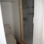シャワーとシャワールーム